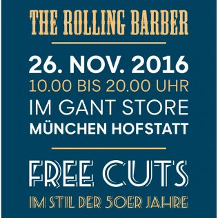 The Rolling Barber bei GANT!