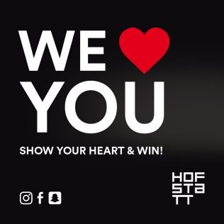 WE <3 YOU!