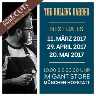 Rolling Barber bei GANT