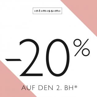 -20% bei INTIMISSIMI