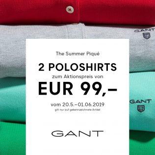 Polos at GANT