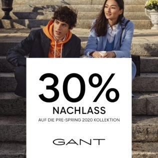 30% bei GANT