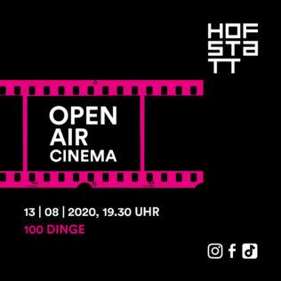 Open-Air-Kino am 13.08.