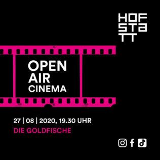 Outdoor cinema on 27 August