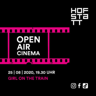 Outdoor cinema on 25 August