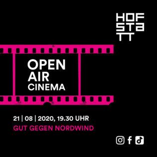 Outdoor cinema on 21 August