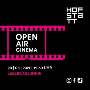 Outdoor cinema on 20 August