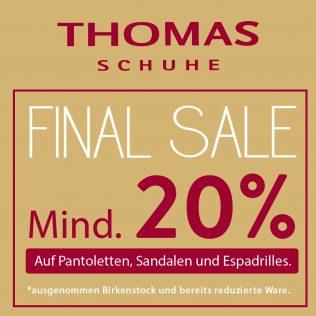 THOMAS Final Sale